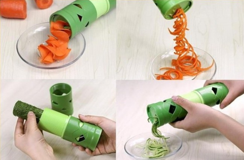 Keuken Gereedschap Kopen : Fruit Veggie Slicer Vegetable Cutter Garnish Kitchen Tool Processing New Twister