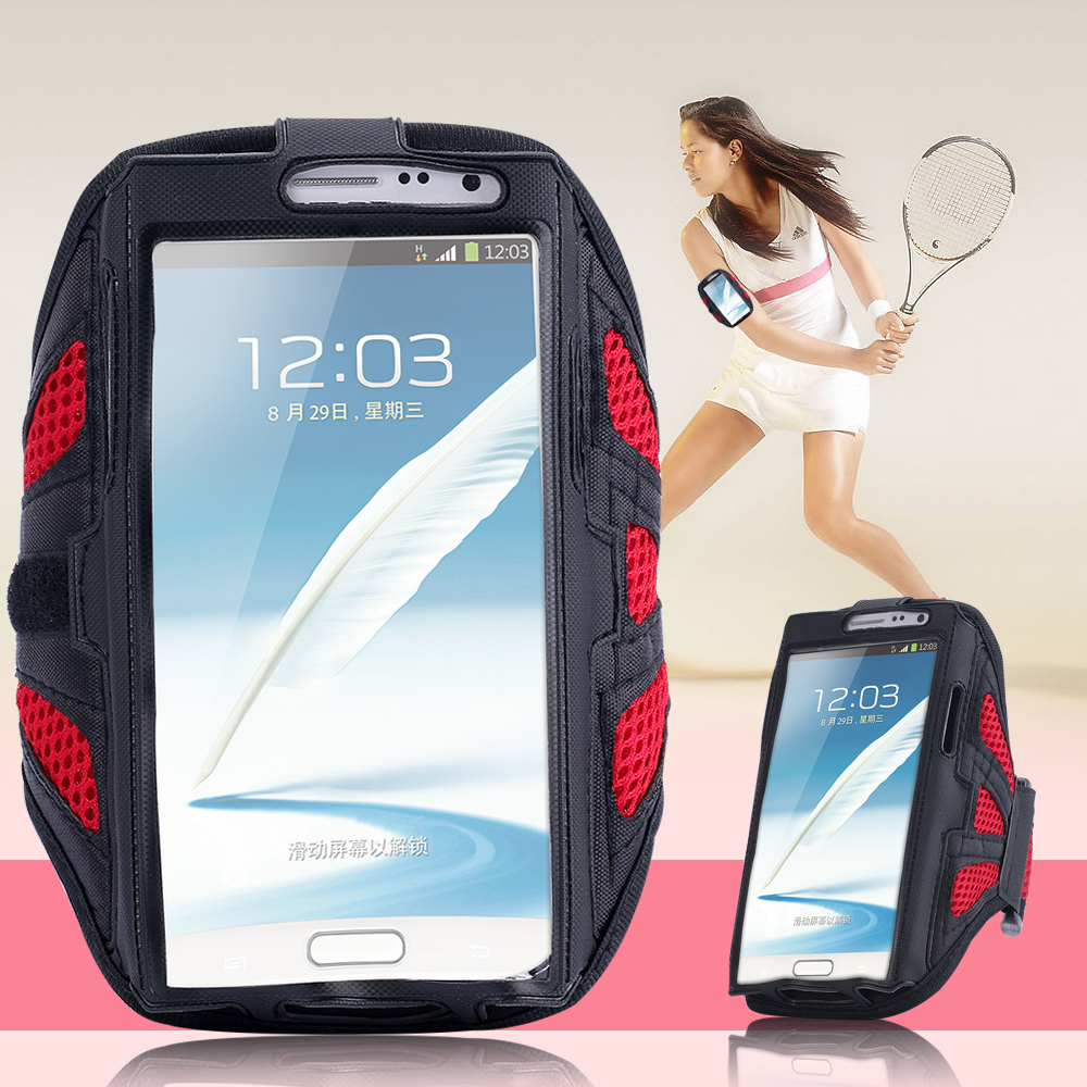 Workout Cover Gym Case for Samsung Galaxy S6 /S6 Edge S3 S4 S5 i9500 i9600 Nylon Breathable Mesh Running Riding Sport Arm Band(China (Mainland))