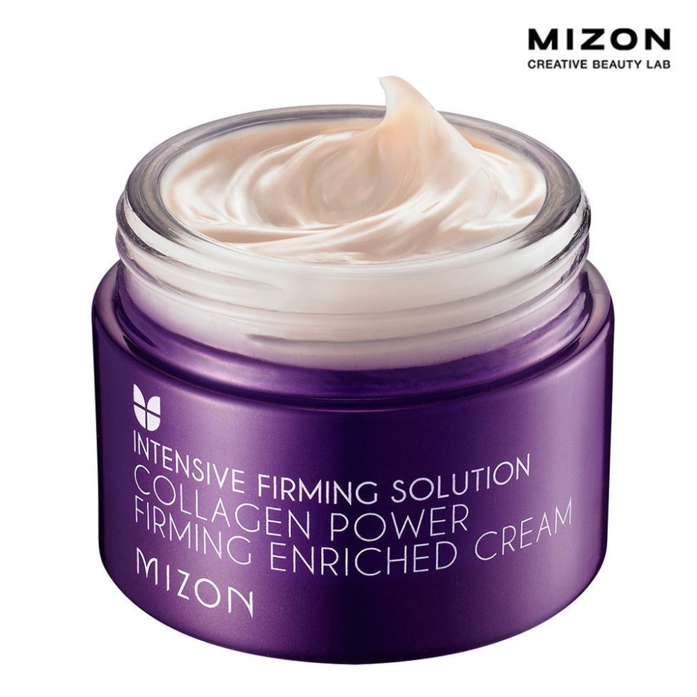 2016 New Ageless South Korean Cosmetics/skin Care Products Mizon Collagen Powerful Firming Concentrated Cream And Moisturizing(China (Mainland))