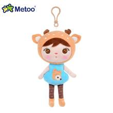 Boneca Metoo Brinquedos de Pelúcia Animais De Pelúcia Macia Do Bebê Brinquedos Infantis para Crianças Meninos Meninas Kawaii Mini Angela Coelho Pingente Keychain(China)