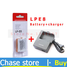 LP E8 LP E8 Battery Pack and LC E8C Batteries Charger for Canon EOS 550D 600D