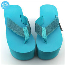 The latest design Various colorful promotional gifts Personalized female leisure high heel slippers welcome to order(China (Mainland))