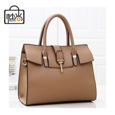 DUSUN Designer Brand classic leather handbag women vintage shoulder bag women messenger bag candy color tote bag hasp work bag(China (Mainland))