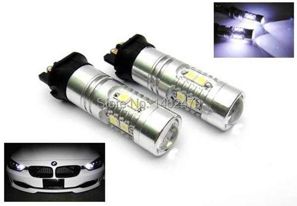 2x  Canbus Error Free PW24W  LED Projector DRL Daytime Running Light  Turn Signal  Bulb  For  BMW F30 3 Series  Audi  Etc <br><br>Aliexpress