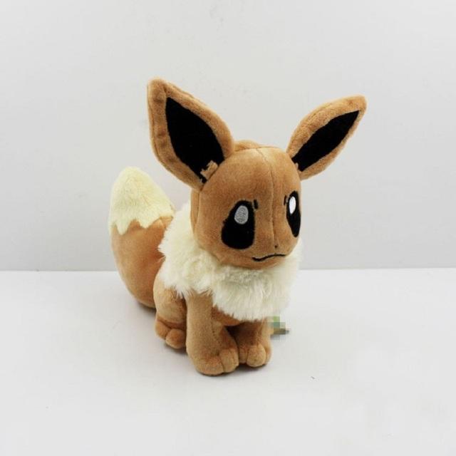 Горячая 15 см Kawaii Eevee Плюшевые Игрушки Мягкая Кукла Животных с Теги Детские Игрушки