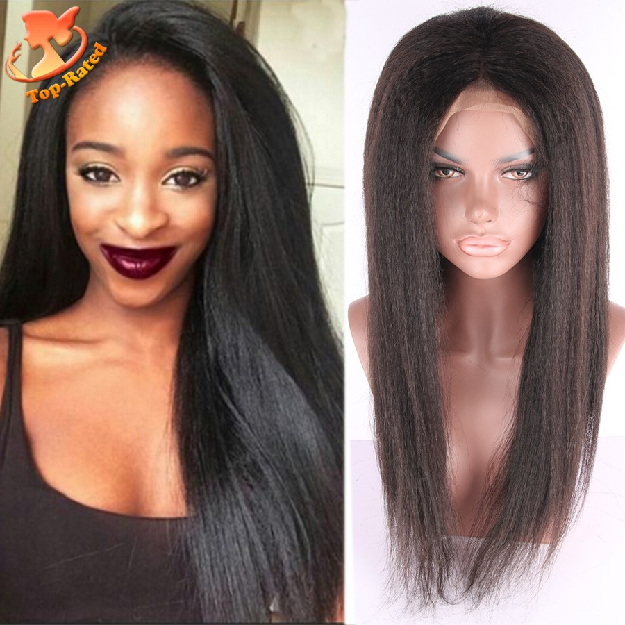 Yaki Full Lace Wigs With Bangs 39