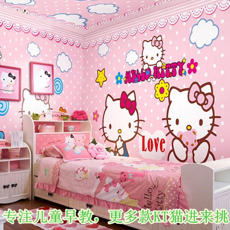 Hello kitty bedroom wallpaper