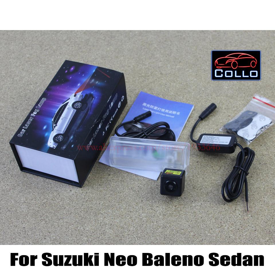 Newest 12V Car Styling Laser Tail Fog Lights / For Suzuki Neo Baleno Sedan 2007~2012 / Anti Collision Rear-end Auto Warning Lamp<br><br>Aliexpress