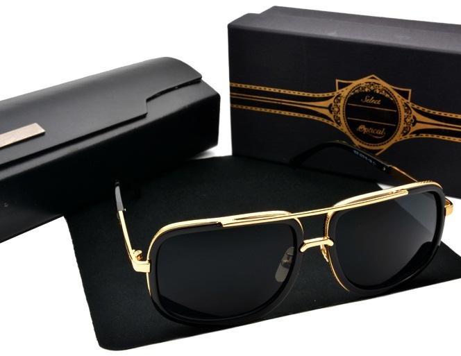 High quality Sunglasses Men 2016 New Unisex MACH ONE Sunglasses Women Brand Designer Sun Glasses Men Vintage Sunglass(China (Mainland))