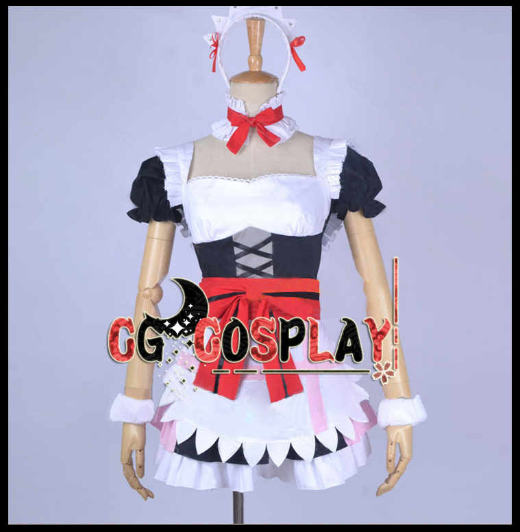 Free Shipping Cosplay Costume Love Live Yazawa Niko Apron Dress Full Set  New in Stock Retail / WholesaleОдежда и ак�е��уары<br><br><br>Aliexpress