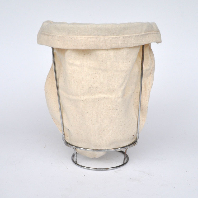 Drip coffee bags iron frame Drip filter Teabag Flannel Hand punch pot coffee pot filter Coffee