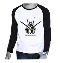 Gundam Game O-neck Casual T shirt Full Sleeve For Man T-shirt for Men Woman Jack T shirts