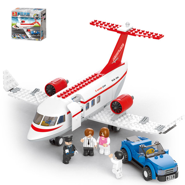 Portable Plastic Concept Aircraft Airplane Puzzle Child Educational Simulation Model Toy Gift For Boy(China (Mainland))