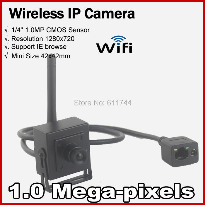 Free shippingHigh Resolution 720P Network house up Securiy CCTV Mini WIFI IP camera Wireless 1.0MP Support ONVIF 2.0 P2P H.264(China (Mainland))