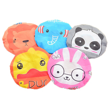 5pcs New Shower Cap Waterproof  Bathing Cap For Lace Elastic Band Hat Bath Accessories For Showering Cute Cartoon(China (Mainland))