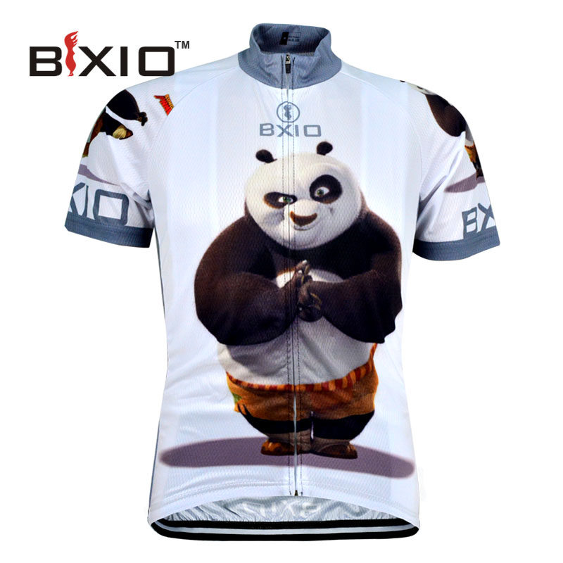 BXIO Funny Cycling Jerseys Fat Bear Bike Clothing Raiders Jersey Abbigliamento Ciclismo Estivo Camisetas Futbol BX-0209XM081-J(China (Mainland))