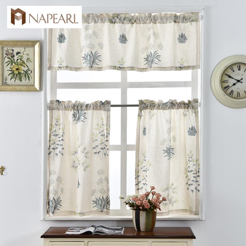 Online Get Cheap Rustic Kitchen Curtains -Aliexpress.com
