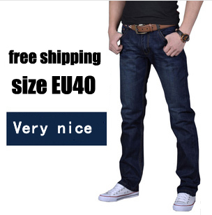 2015 printed jeans men pants,Straight jeans man brand fashion perfumes 100 original jeans famous brand sizeEU 28-40(China (Mainland))