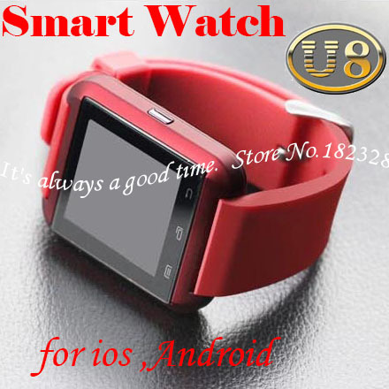 Bluetooth Smart Watch WristWatch U8 U Samsung S4/Note 2/Note 3 HTC LG Huawei Xiaomi Android Phone Smartphones 2015 Hot - It's always a good time store