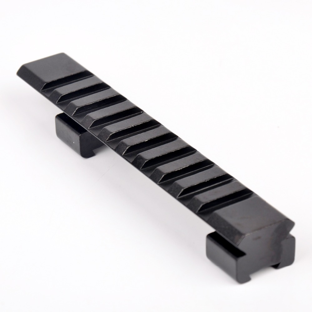 Hot sell hunting rail mount 11mm Picatinny Rail with 10 Slots and 124mm Length Hunting Rifle