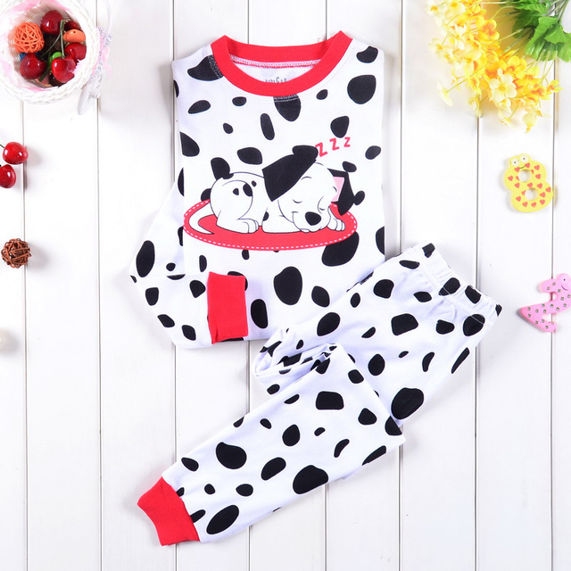 Новинка детей мальчики девочки собаки пижамы ребенка мультфильма пижама Pijamas костюмы ...