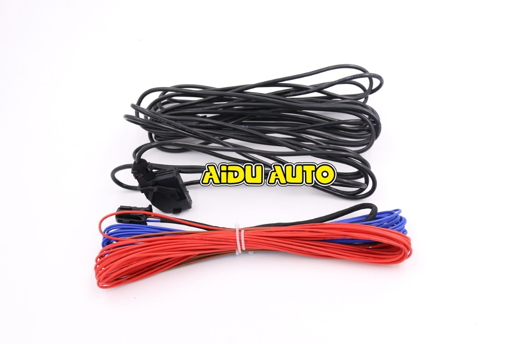 VW RGB Rear View Reversing Camera Cable For Golf Plus Jetta MK5 MK6 Tiguan Passat B7 RNS510 RCD510<br><br>Aliexpress