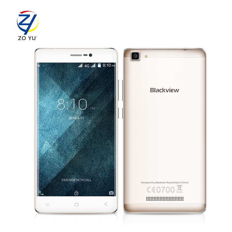 """Blackview A8 Max 4G 5.5"""" HD IPS Smartphone Android 6.0 MTK6737 Quad Core 1.3GHz Cellphone 2GB+16GB 8MP 3000mah Mobile Phone(China (Mainland))"""