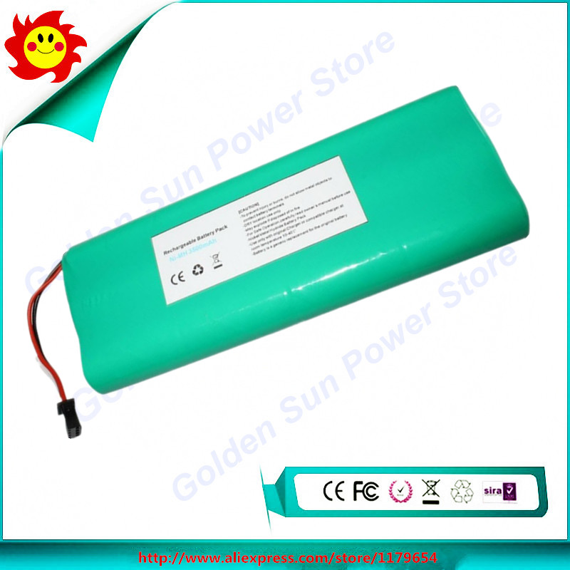 Free Shipping Replacement Robot Vacuum Cleaner Battery 3500mAh 14.4V for Ecovacs Deebot 540/550/560/570/580/D58/D56/D54(China (Mainland))