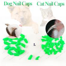 100pcs/lot  Cat Nail Caps cat Soft paws  Nail Protector with free 5Adhesive Glue + 5Applicator(China (Mainland))