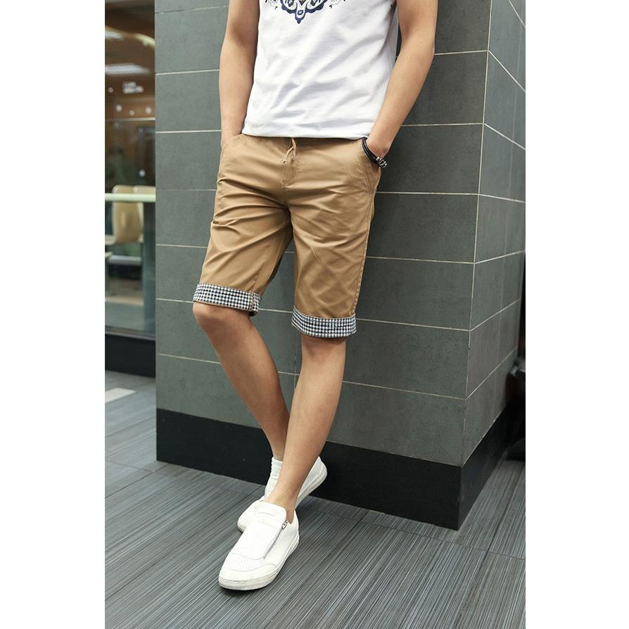 Compare Prices on Slim Fit Khaki Shorts- Online Shopping/Buy Low ...