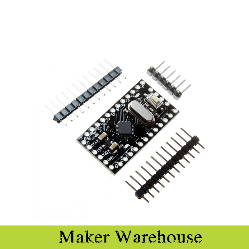 1pcs Pro Mini Module Atmega168 5V 16M For Arduino Compatible With Nano(China (Mainland))