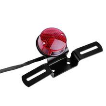 Universal Red LED 12V Motorcycle Rear Tail Light Round Brake Stop Lamp Wholesale(China (Mainland))