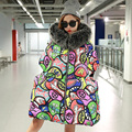 7 14 days To Moscow High Quality Winter Women Cotton Thick Winter Coat For Parka Jackets