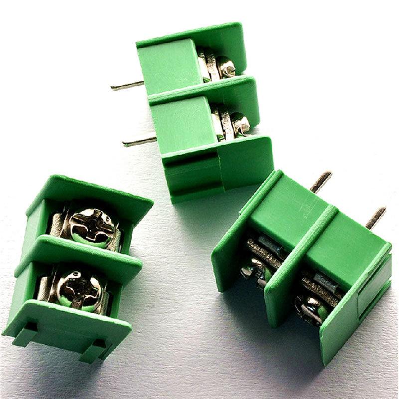 Гаджет  20pcs KF7.62-2P 7.62mm pitch connector pcb screw terminal block connector 2pin None Электротехническое оборудование и материалы