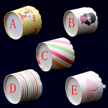 20pcs/pack High Temperature Resistant Paper Cake Cup,free shipping cupcake(China (Mainland))