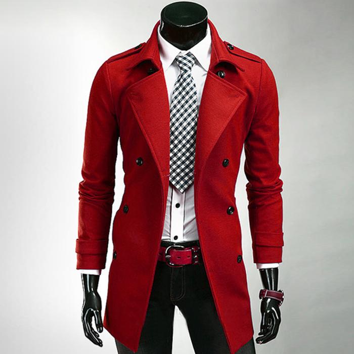 Online Buy Wholesale men wool belt coat from China men wool belt ...