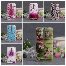 3D Relief Printing TPU Gel Cover Case Skin Asus Zenfone 2 ZE550ML ZE551ML / (5.5 inches) Silicon Phone - Shop2526008 Store store