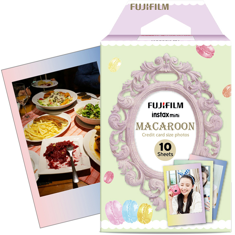 Original Fujifilm Fuji Instax Mini 8 MACAROON Film 10 Sheets For 8 50s 7s 90 25 Share SP-1 Instant Cameras New arrive(China (Mainland))