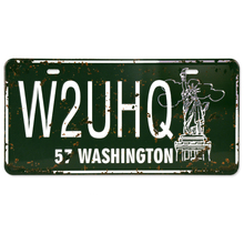 Buy 57 Washington Metal Tin Sign W2UHQ Licence Plate Vintage Wall Art Painting Plaque Bar Pub Club Iron Poster Home Decoration for $4.99 in AliExpress store