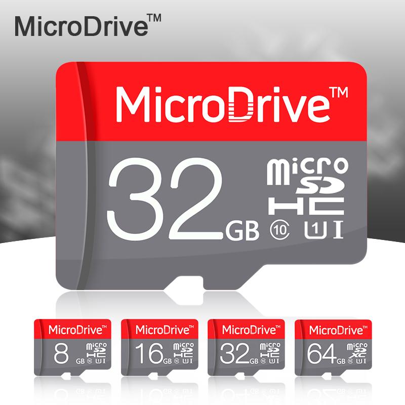 100% New Red Micro SD Card 64GB 32GB 16GB Class 10 High Speed Memory Card 8GB Class 6 Cartao de Memoria Carte SD Tarjeta(China (Mainland))