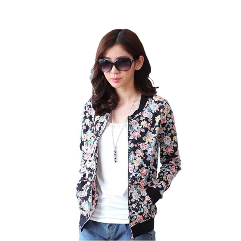 women jacket tops woman coat jaqueta feminina abrigos y chaquetas veste femme winter printed sweatshirt cardigan plus size XXXL(China (Mainland))