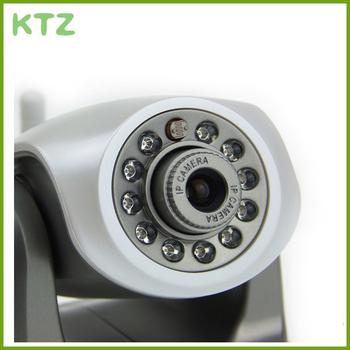 2pcs/lot  HD Mega Pixel H.264 720P IR_CUT/WPS Wireless IP Network Surveillance Camera w/ 11 LED 10m Night Vision/ SD/RJ45/AUDIO