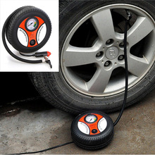 Mini Portable Car Air Compressor 12v Auto Inflatable Pumps Electric Tire Inflaters(China (Mainland))