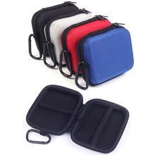 Colorful EVA Storage Bags for External Battery Pack Mobile Power Bank and More Devices Anti-knock Pouch Bags with Carabiner(China (Mainland))