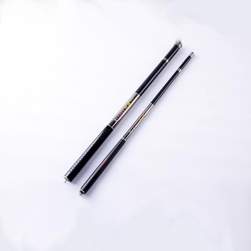 Hard taiwan Stream Long Fishing Rod Carbon Fiber Hand Pole 2.7m 3.6m 4.5m 5.4m 6.3m 7.2m 8m Casting Telescopic Rods Fish Tackle