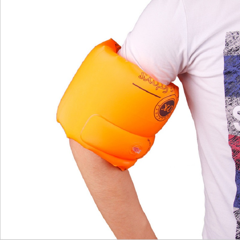 Summer PVC Swimming Inflatable Sleeves Arm Ring Swimming Arm Band Floating Ring Swimming Rings For Children and Adult 1 pair(China (Mainland))