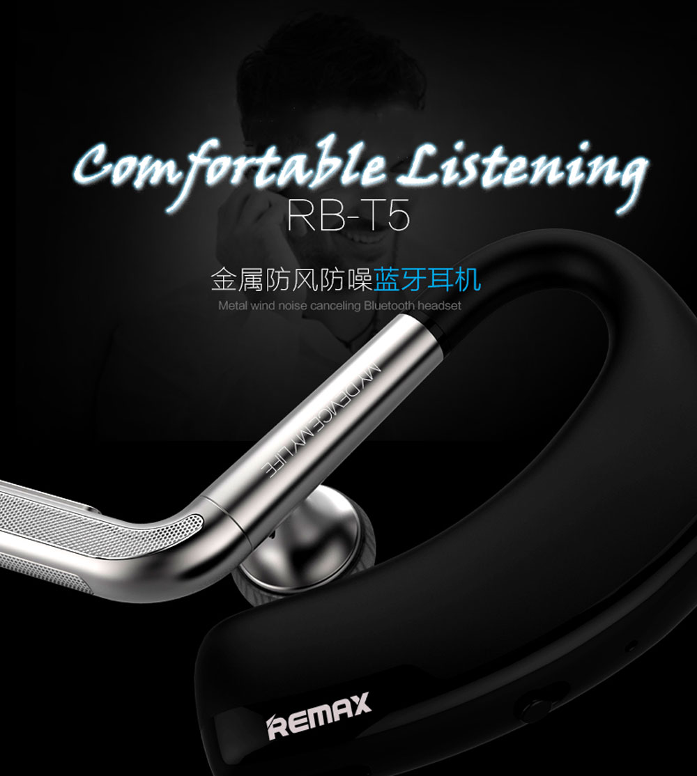 Remax RB-T5 wireless Bluetooth stereo headset ear music fashion fidelity ear headset for Apple Samsung smart mobile phone(China (Mainland))