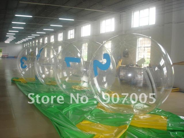 WB24 1.0mm PVC walking water ball 2M  + TIZIP + Repair Kits + Free Shipping + Storage Bag + Strong Rope