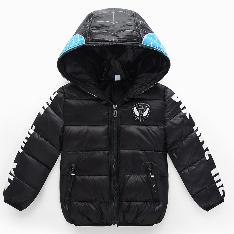 Popular The Rainbow Zipper Winter Jacket of The Girls-Buy Cheap ...