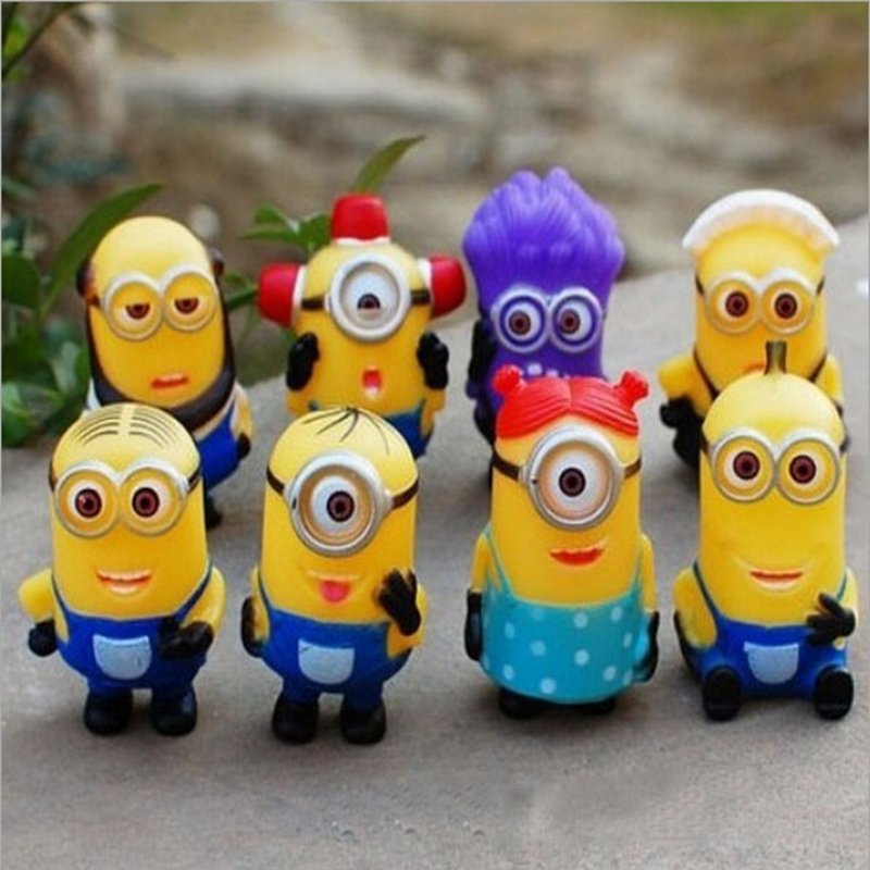 Despicable Me 7 inch super soft little yellow man plush toys<br><br>Aliexpress